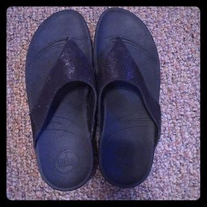 FitFlop Black Wedges
